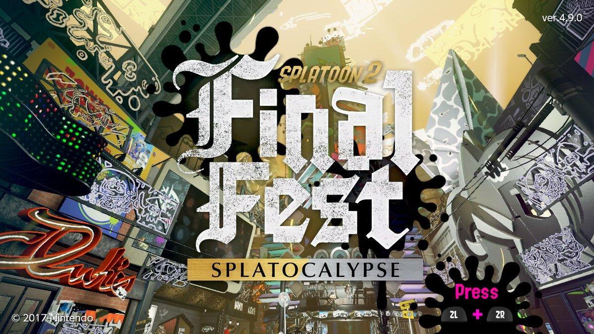 Final Fest Music Schedule